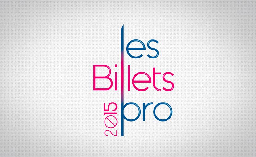 Logo pour le salon les Billets Pro