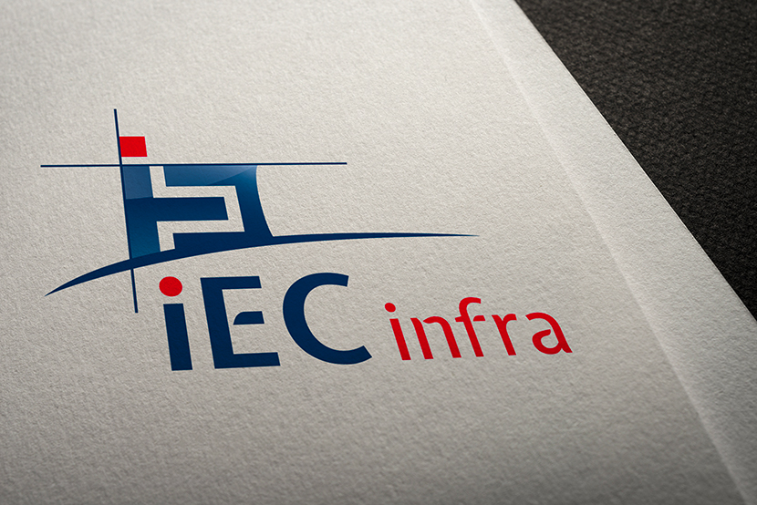 Logo IEC infra - version 1
