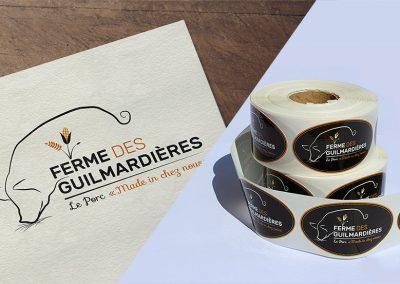 Ferme des Guilmardières – Logo
