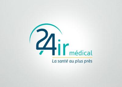 24 AIR médical – logo