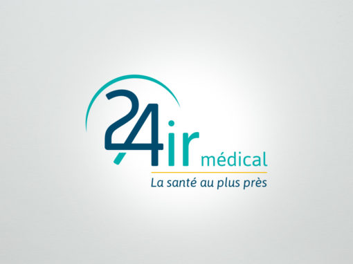 24 AIR médical – logo